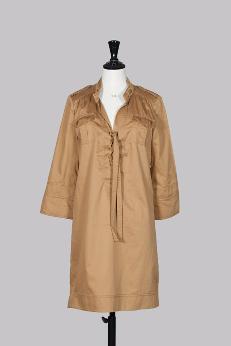 Damani shirt dress with tie detail by Diane von Furstenberg