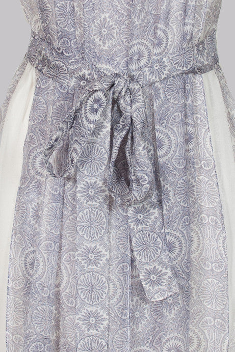 Silk scarf dress by Jill Stuart
