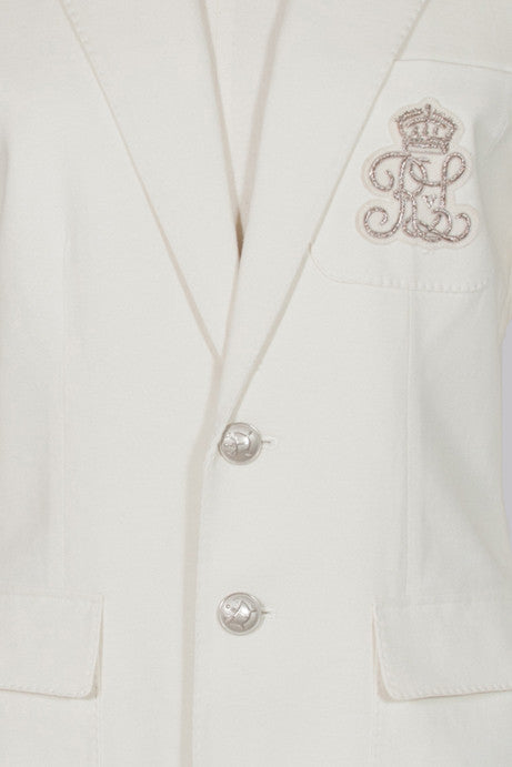Blazer with logo pocket by Ralph Lauren