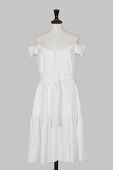 Off-shoulder dress by Loewe at Isabella's Wardrobe
