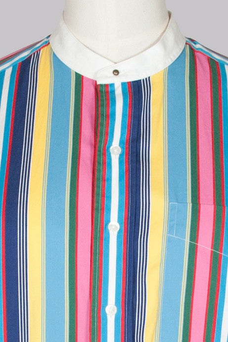Multicoloured striped tunic by Ralph Lauren