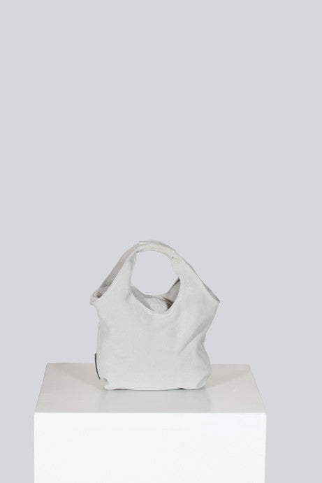 Soft suede bag by Emporio Armani