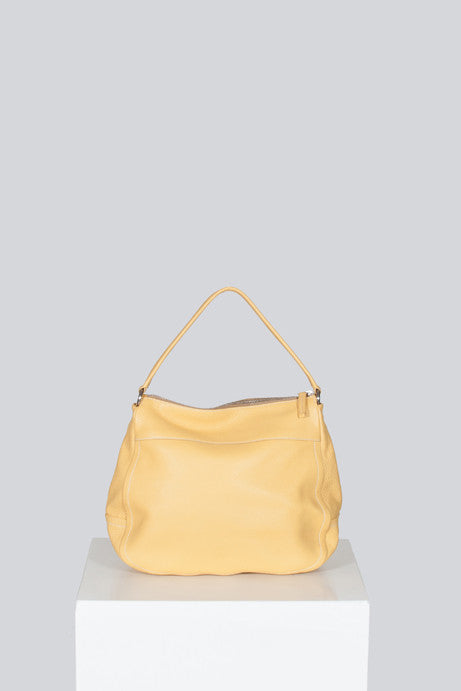 Zip-front top-handle tote by Prada