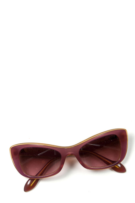 Square frame sunglasses by Miu Miu