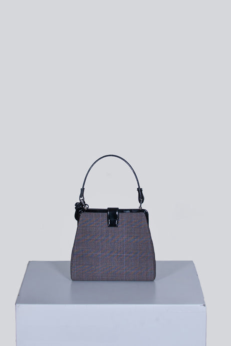Small checked handbag by Mulberry