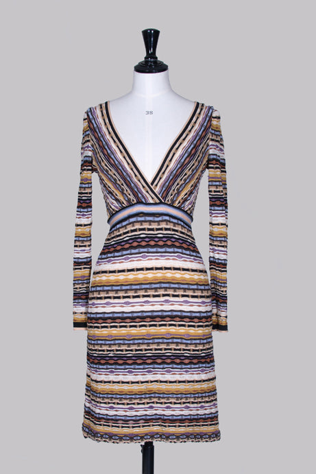 Fine-knit dress by Missoni