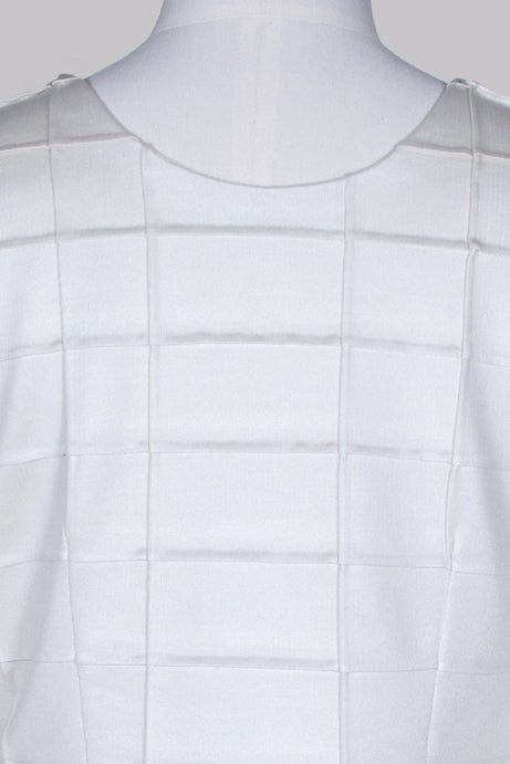 Long-sleeved textured top by Prada
