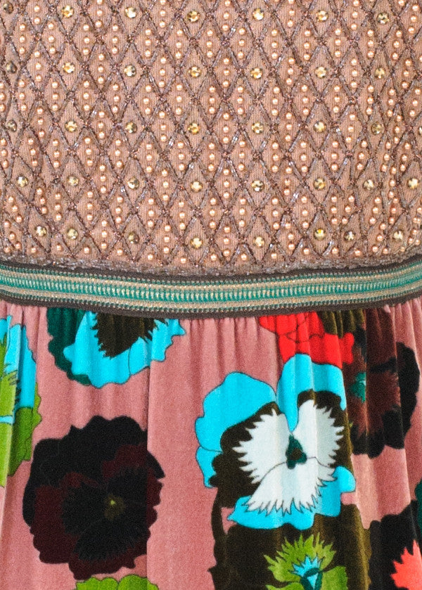Vintage beaded dress by Missoni