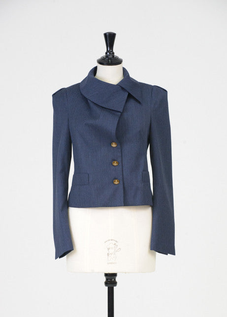 Signature collar jacket by Vivienne Westwood