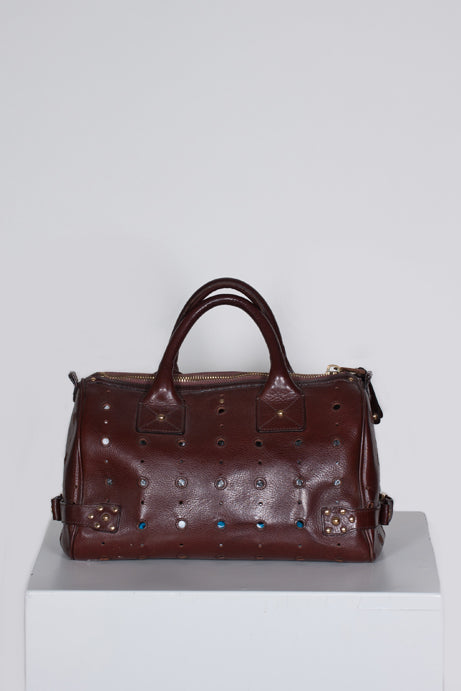 Brigitte perforated patterned leather bag by Marc Jacobs