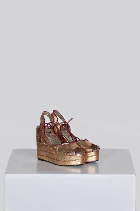 Glam rock wedges by Terry de Havilland