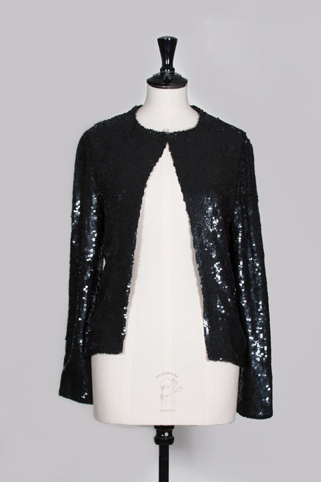 Sequinned evening jacket by Freda