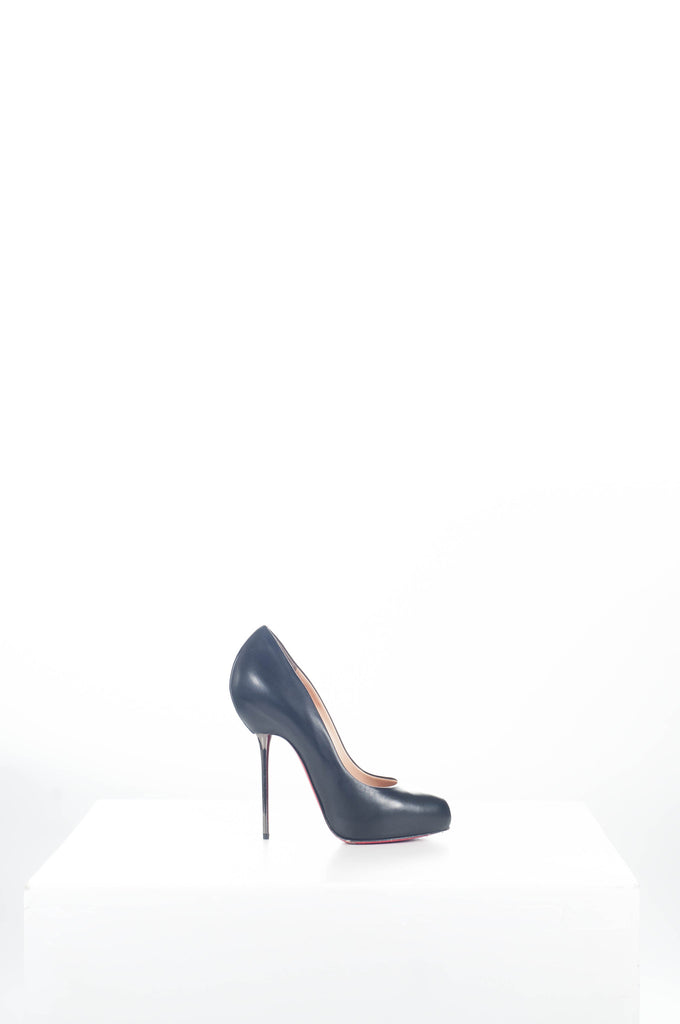 Big Lips metal heel pumps by Christian Louboutin