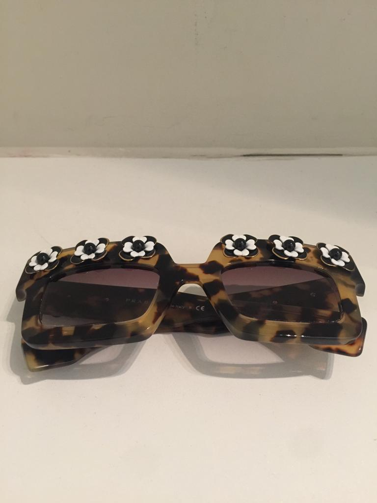 Limited Edition Poem Sunglasses by Prada