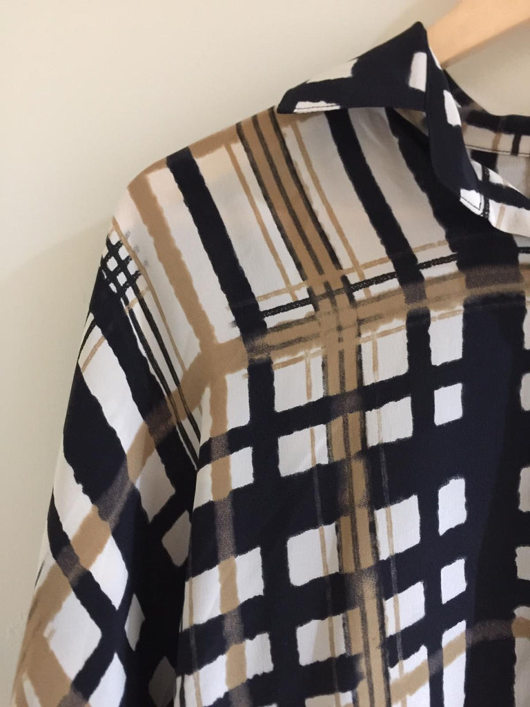 Printed Square Shirt by Nomad Atelier