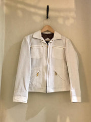 Vintage White Jacket by Louis Vuitton at Isabella's Wardrobe