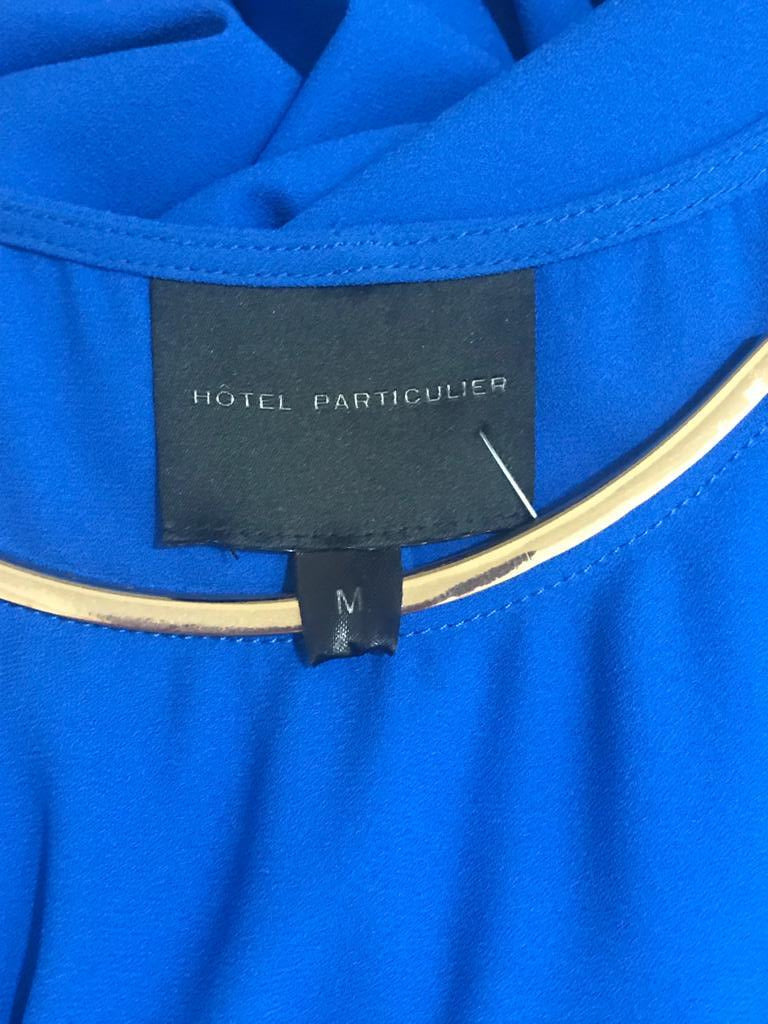 Electric Blue Dress by Hotel Particulier