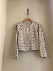 Kate Studded Leather Jacket by Diane von Furstenberg at Isabella's Wardrobe