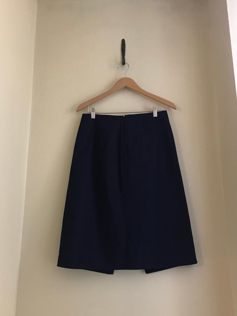 Military Style Skirt by Kenzo