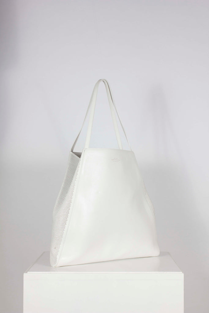 Perforated Tote by Smythson