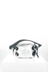 Metallic Biker Bag by Chloe at Isabella's Wardrobe