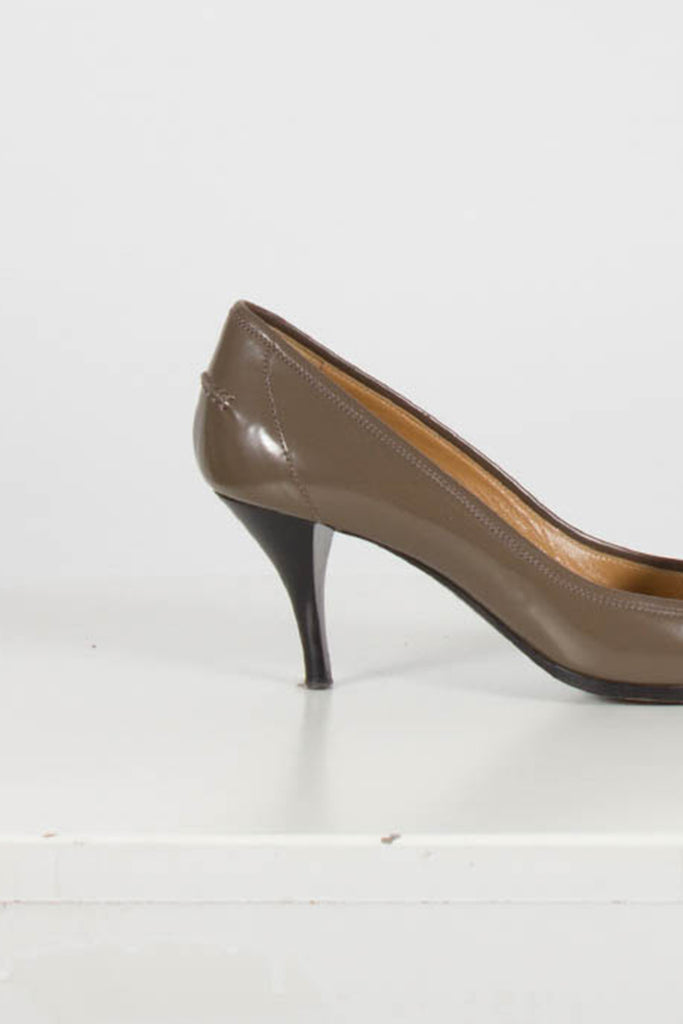 Etoupe Court Shoes by Hermes