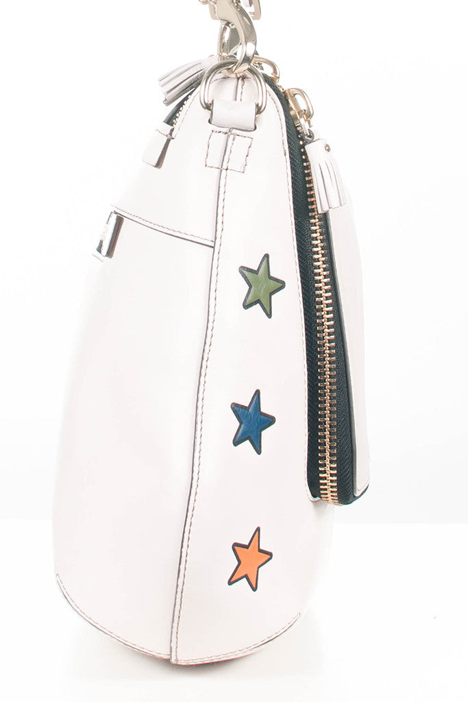 Star Maxi Zip satchel by Anya Hindmarch
