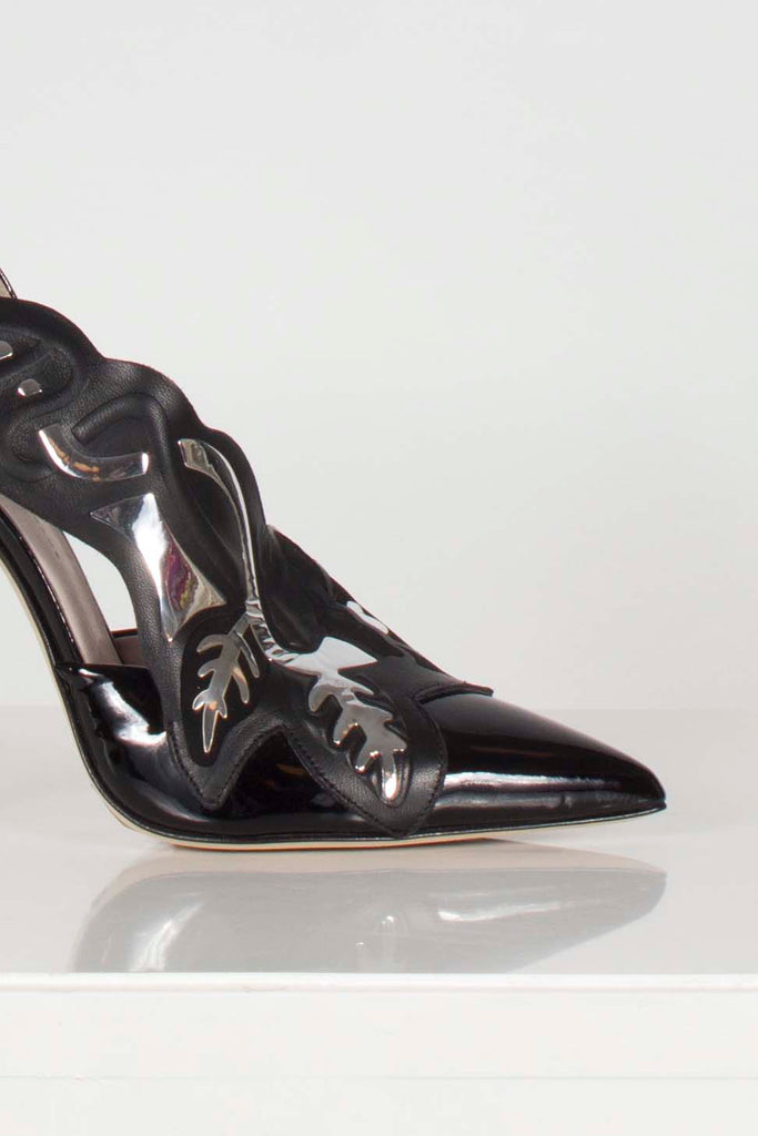 Art Deco Pat Pump by Christopher Kane