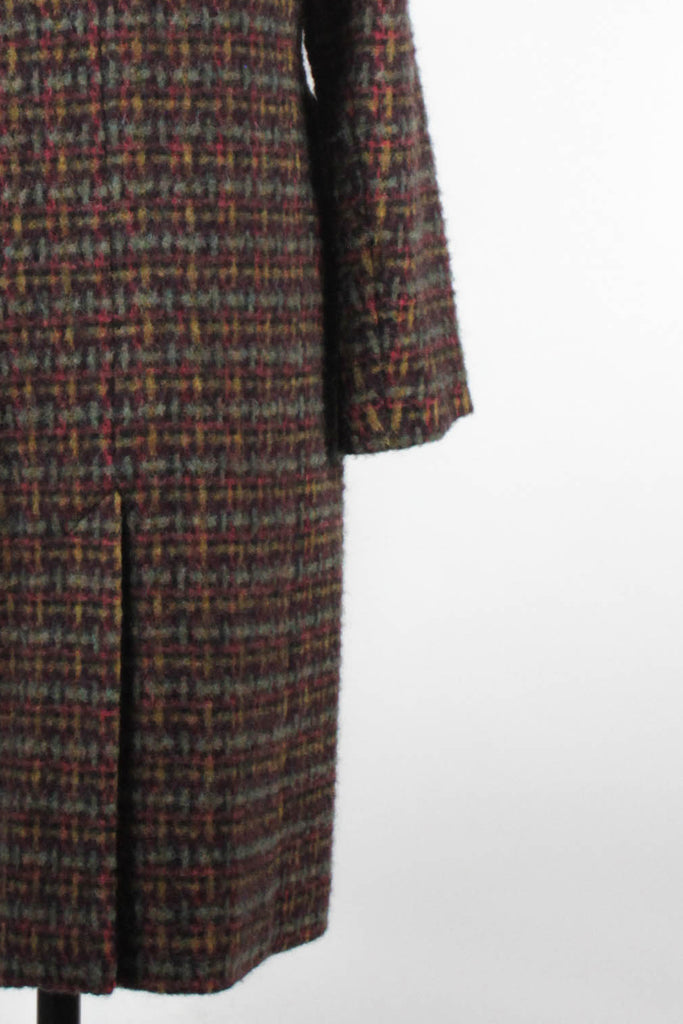 Multicoloured Wool Coat by Mr & Mrs Macleod