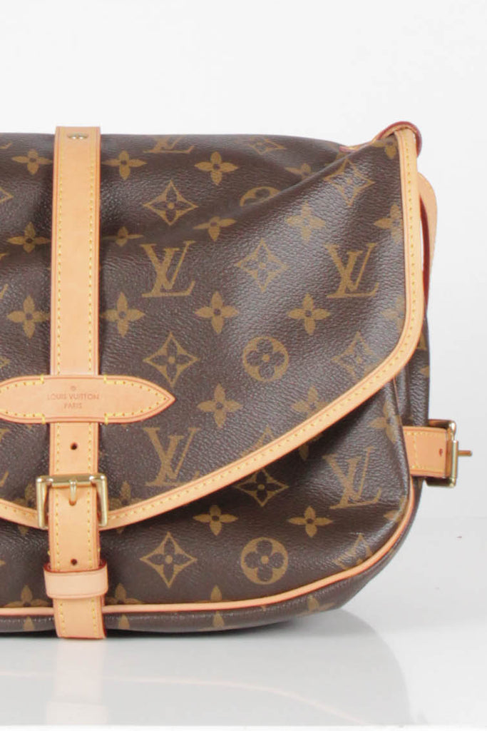 Saumur MM Satchel by Louis Vuitton
