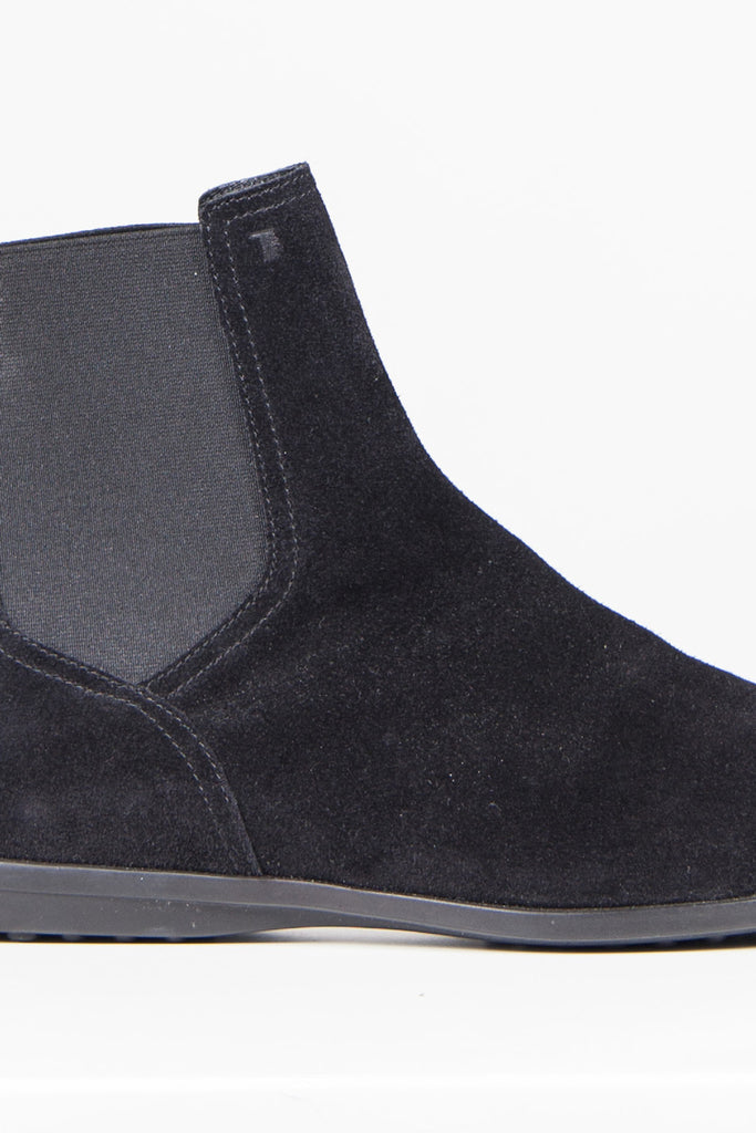 Flat suede Beatles boots by Tod's