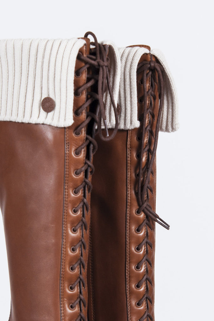 Angho leather boots by Gucci