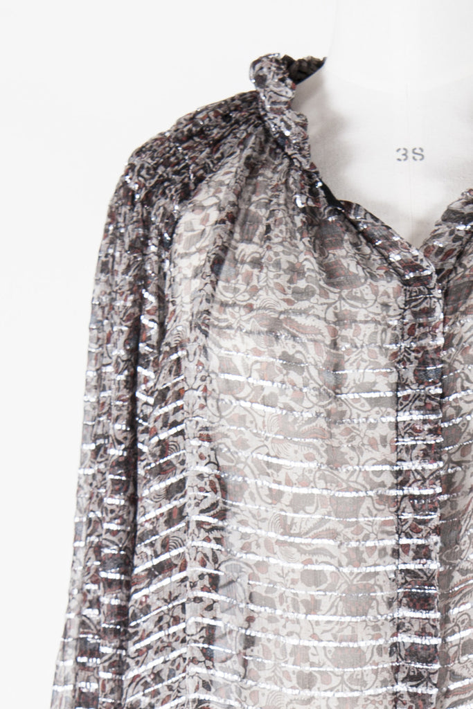 Isabel Marant Metallic thread blouse by Isabel Marant