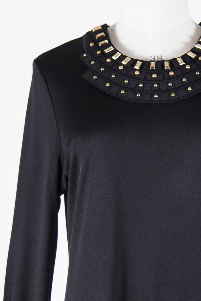 Studded collar dress by Tory Burch