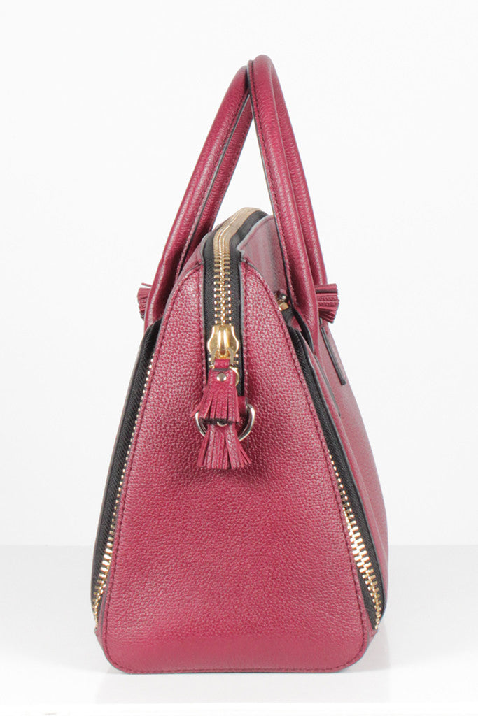 Maxi Zip Top Handle Tote by Anya Hindmarch