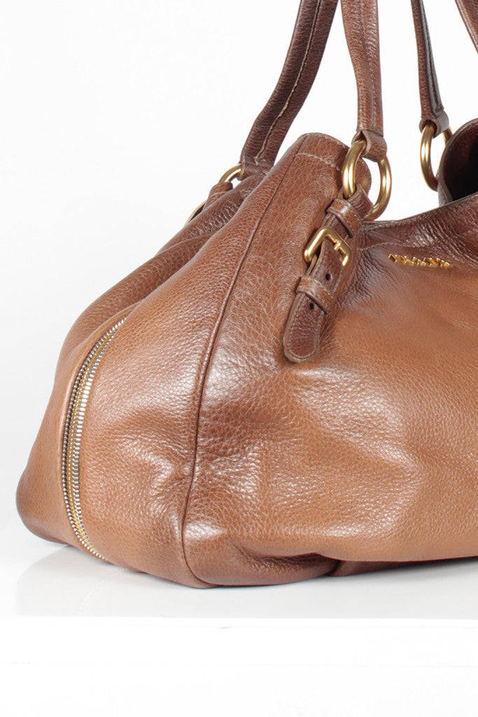 Antique Deerskin Cervo Shoulder Bag by Prada
