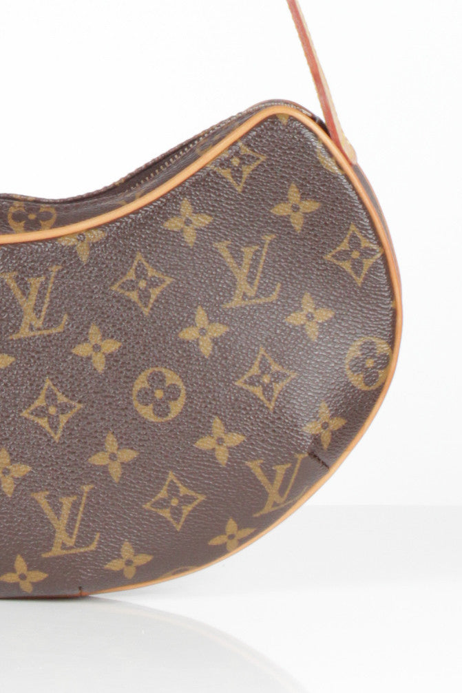 Monogram Canvas Croissant Bag by Louis Vuitton