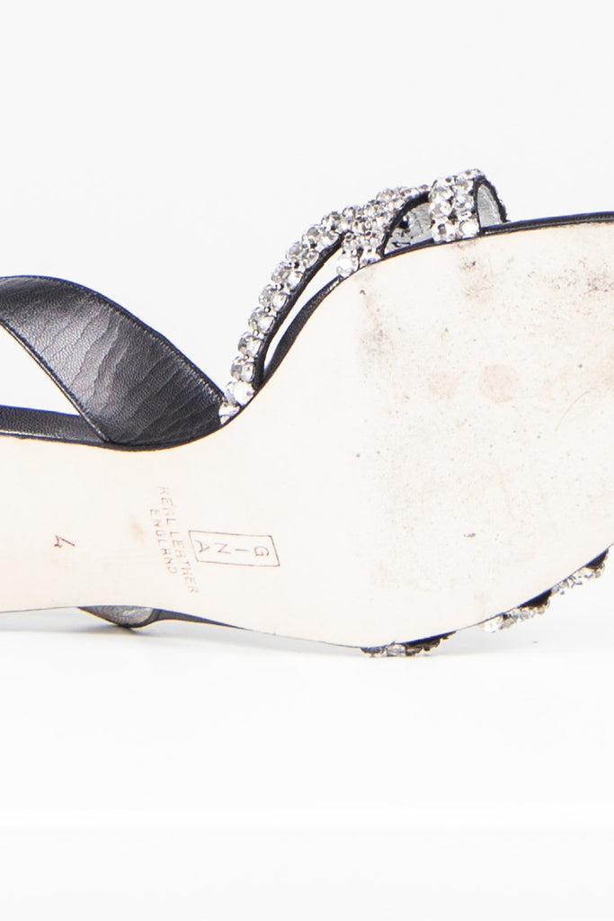 Diamante sandals by Gina