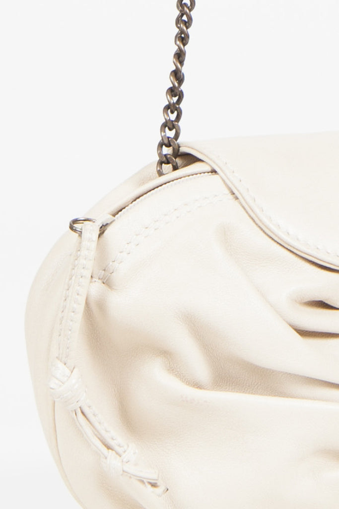Soft leather evening bag by Tanner Krolle