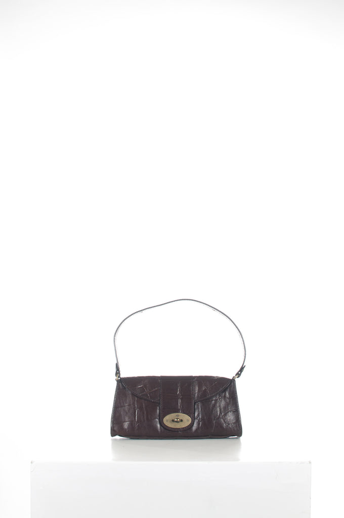 Zinia congo leather handbag by Mulberry