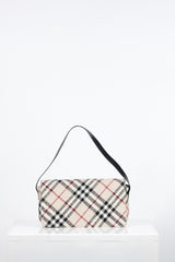 Nova Check Tweed Bag by Burberry at Isabella's Wardrobe