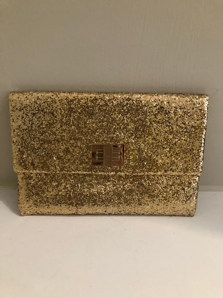 Valerie Glitter Clutch by Anya Hindmarch