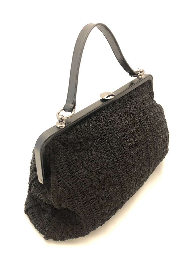 Crochet Frame Bag by Farhi