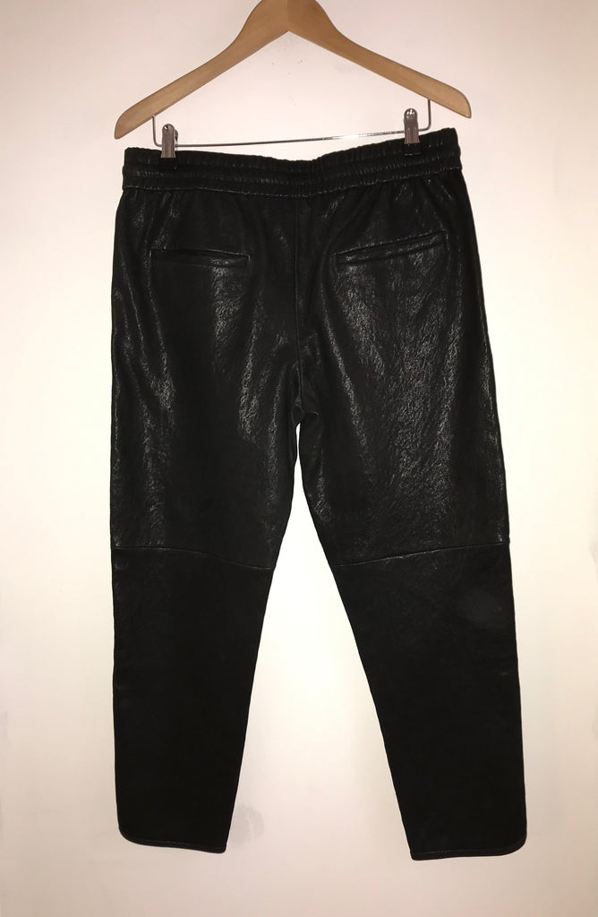 Leather Drawstring Trousers by Isabel Marant