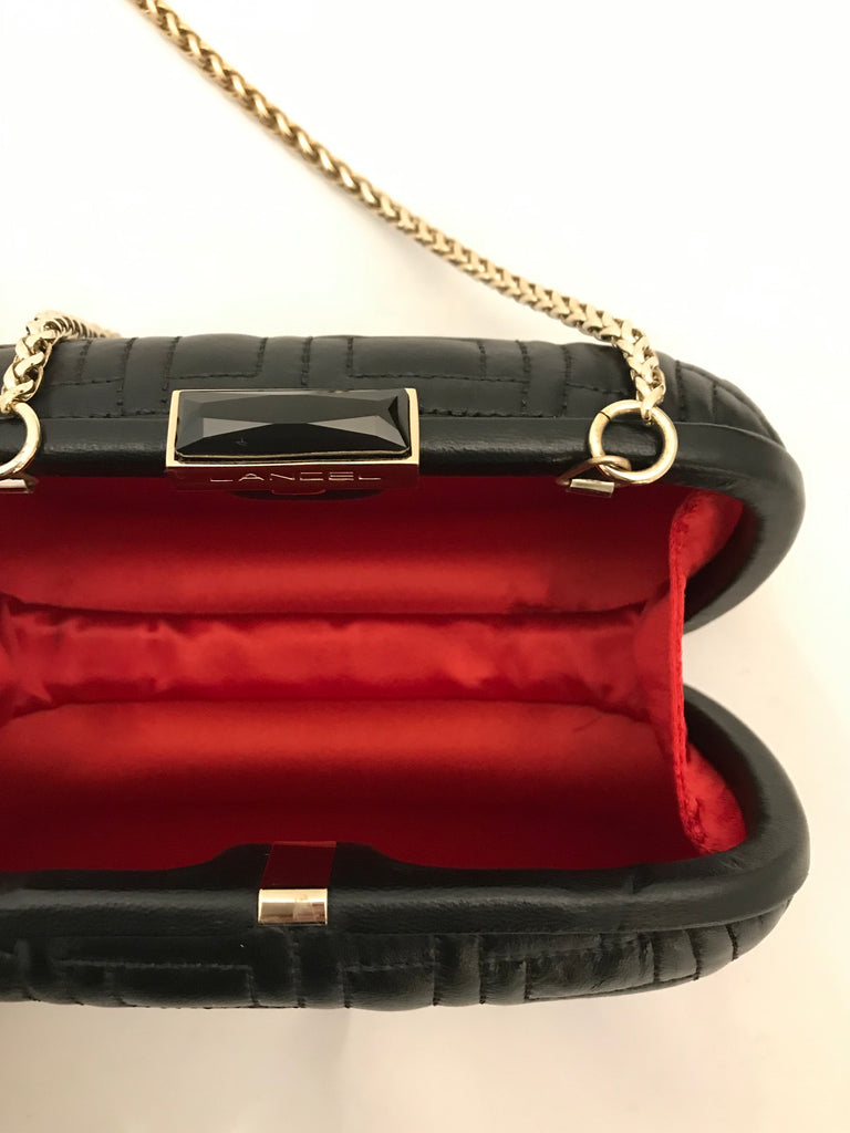Leather Clutch by Lancel