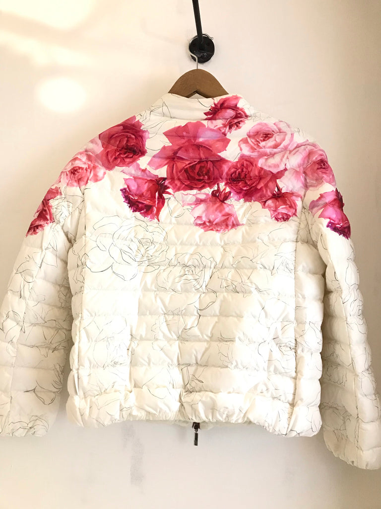 Lunaire Floral Patterned Jacket by Moncler