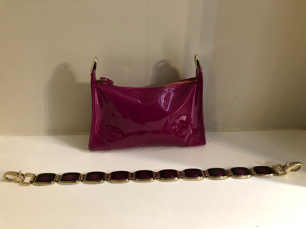 Bejewelled Strap Evening Bag by Celine