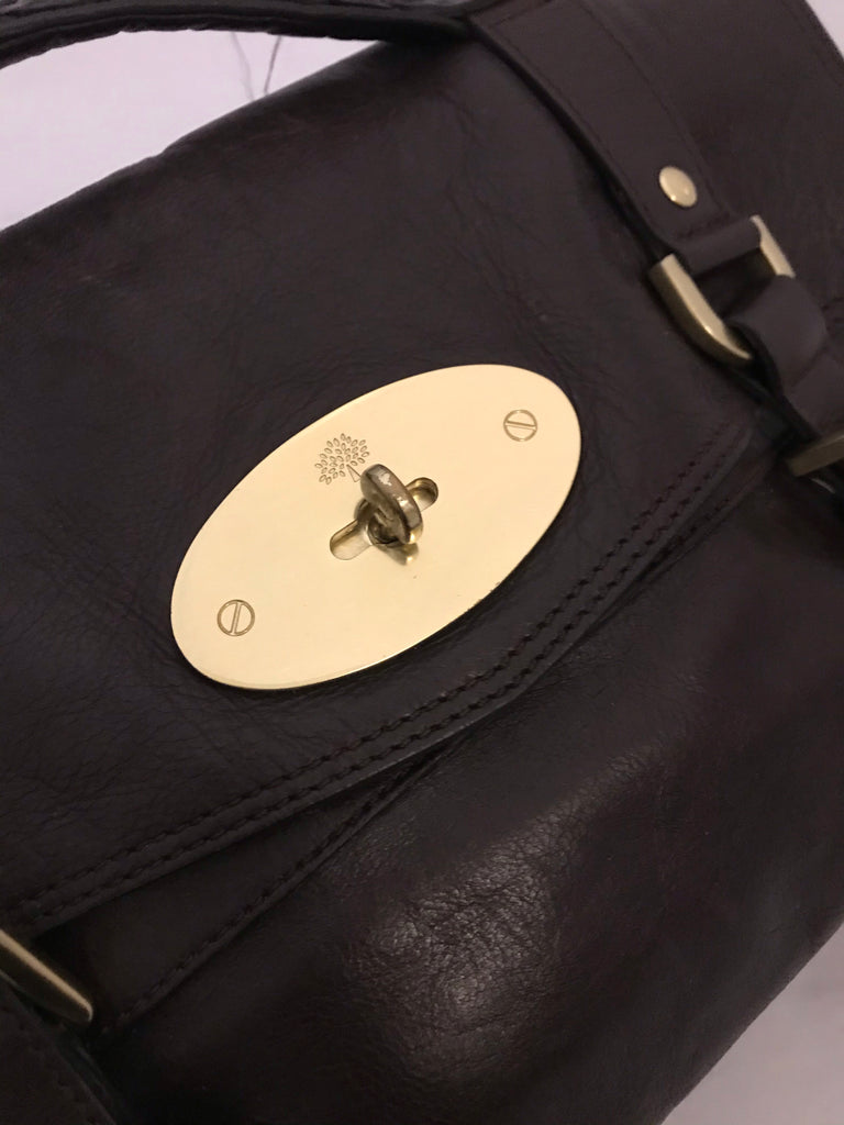 Alexa Satchel Bag by Mulberry