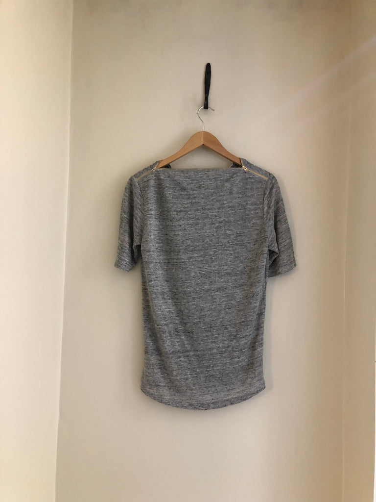Zip T Shirt by Hotel Particulier