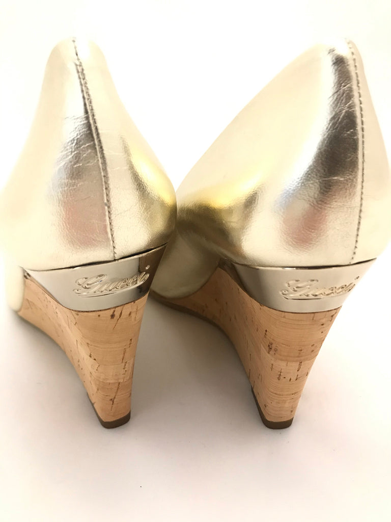 Vintage Cyprus Wedges by Gucci